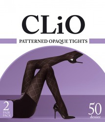 CLPAOPT2P_Clio-2PK-Patterned-Opq-Tights